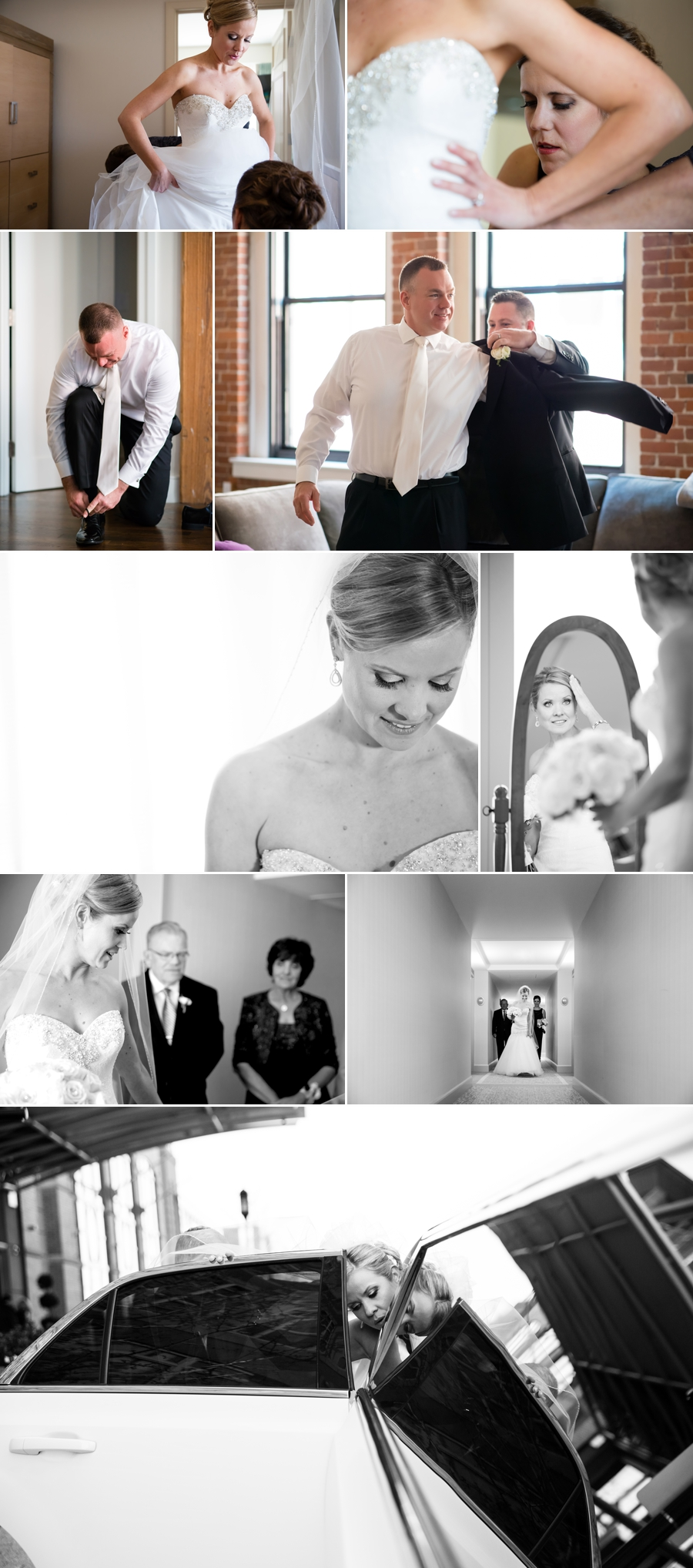 wedding image collage
