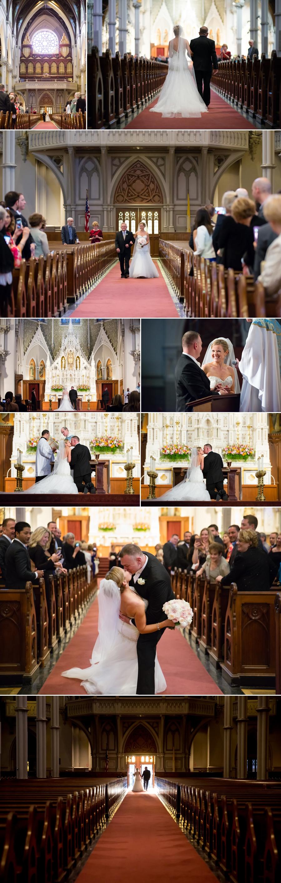 Wedding Ceremony  photo collage
