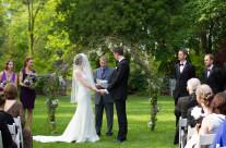 English Garden Ceremony