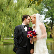 Heidi & Joe's Elegant Four Seasons Wedding