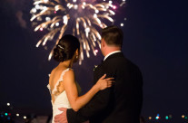 Karen & Scott's Red, White & Blue Wedding