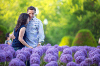 Engagement Shoot at the Public Garden