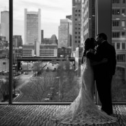 Jessica + Eric's Romantic Winter Wedding in Boston's Seaport District