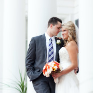 Laura & Eric's Autumn Wedding with a Flair