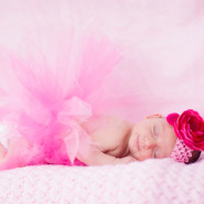 Julia's Girlie, Frilly, Fabulous Infant Shoot!