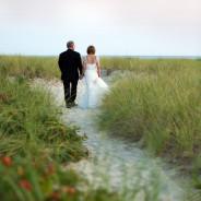Deb + Kevin's Elegant Ocean Side Wedding