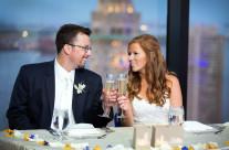 Bride and Groom Toast, State Room Boston