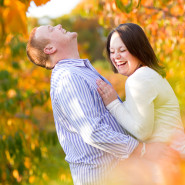 An Autumn Engagement Session in New England