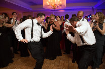 Father and Son Dancing
