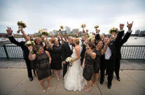 Wedding Party on the Charles River