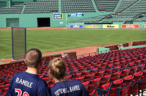She Said Yes!  At Fenway Park