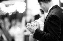 Hands During First Dance