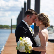 Kristina + Sean's Oceanside Wedding at Wentworth by the Sea