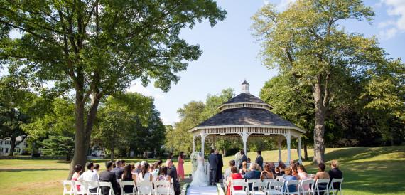 wedding at endicott estate