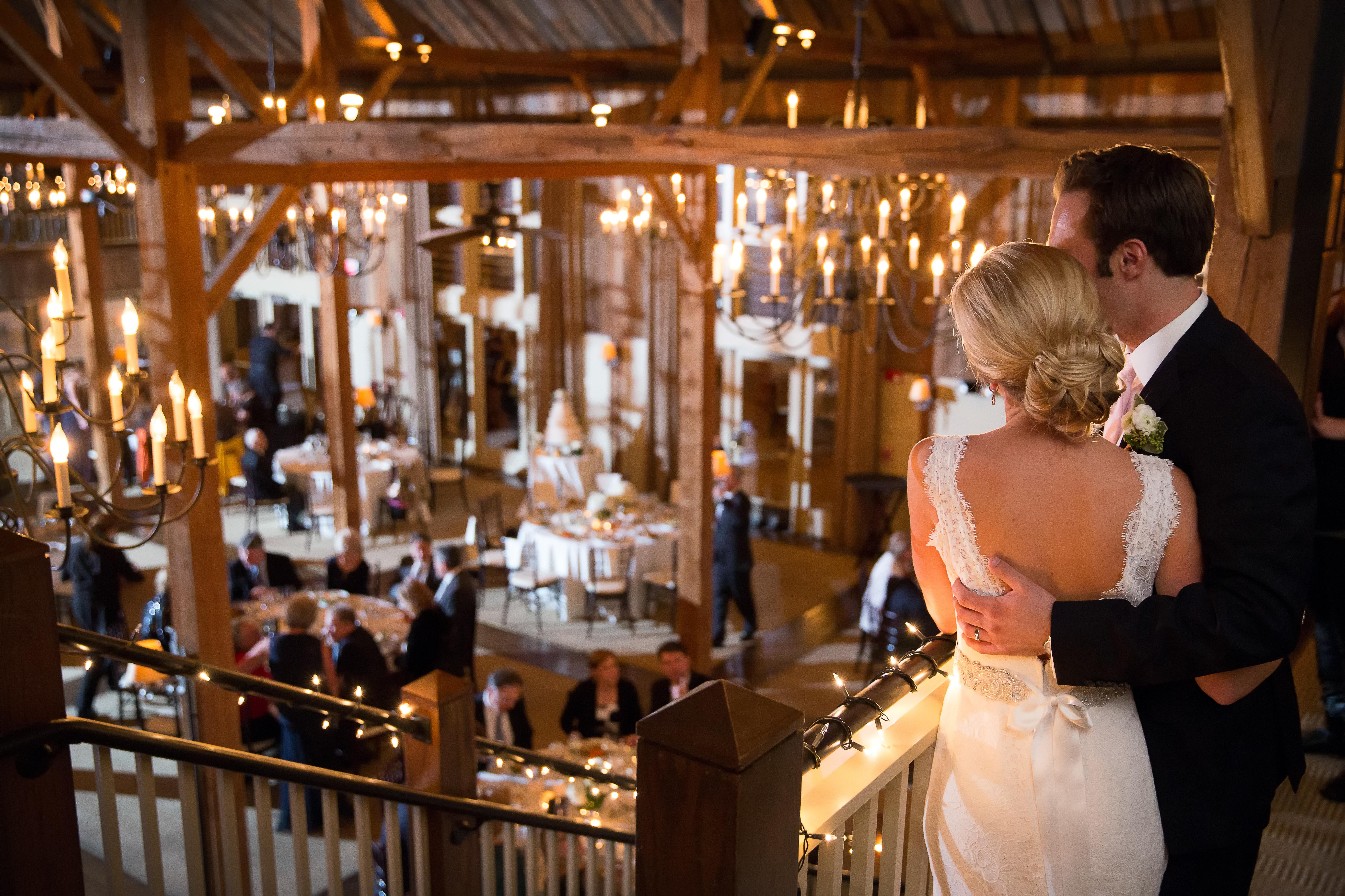 wedding at Barn at Gibbet Hill